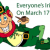 St. Patrick's Day - March 17, 2016