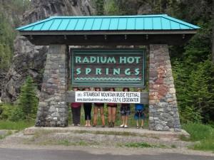 Radium Hot Springs, BC, Canada