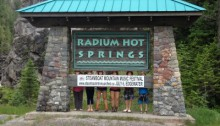 Radium Hot Springs, BC, Canada