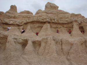Climbing in the Badlands!