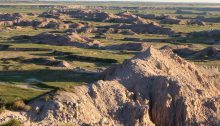 The beauty of Badlands National Park