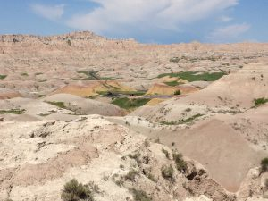 Incredible colors in Badlands National Park