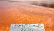 Grand Prismatic Spring - Yellowstone National Park, Wyoming, USA