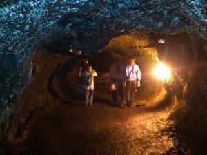 Lava Tube from the Kilauea volcano at Hawaii Volcanoes
