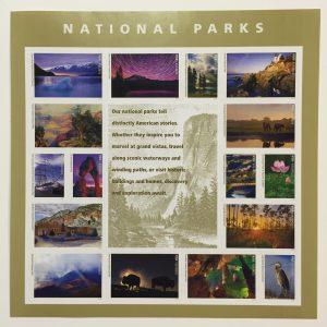 National Park Stamps - US Postal Service