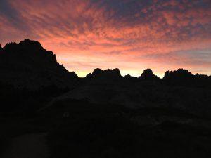 Sunset at Badlands National Park