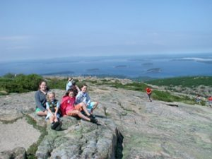 Acadia National Park - From the Top of Cadillac Mountain